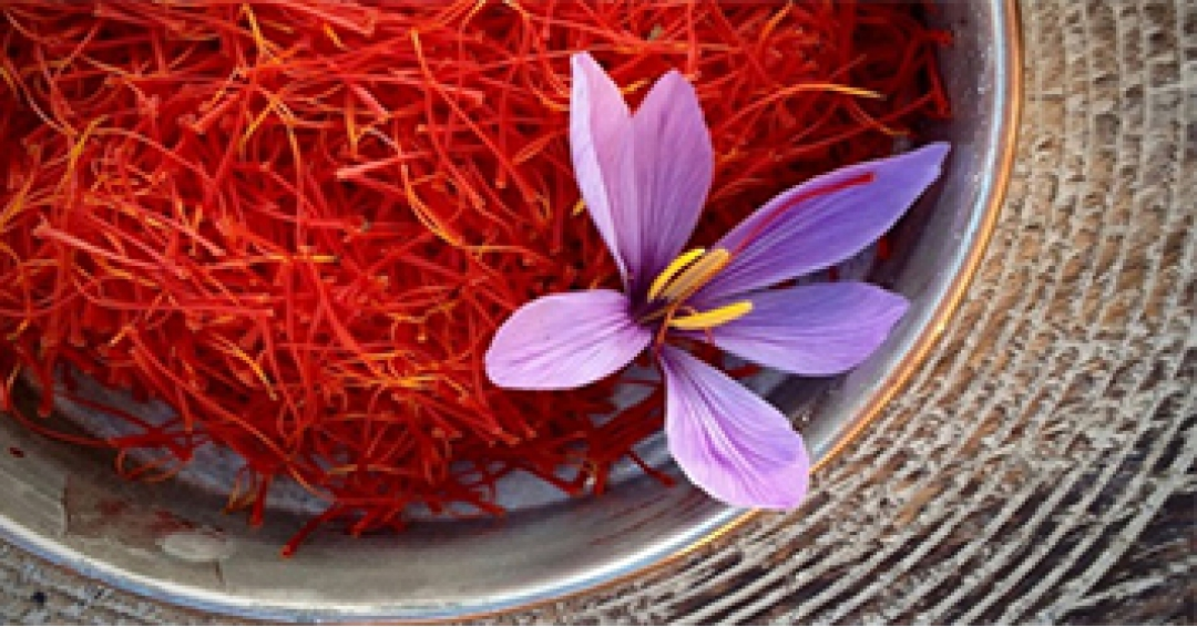 The selling price of a variety of high quality saffron
